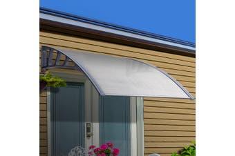 Instahut Window Door Awning Door Canopy Outdoor Patio Sun Shield 1.5mx1m DIY
