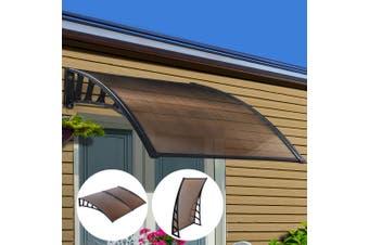 Instahut Window Door Awning Door Canopy Outdoor Patio Cover Shade 1.5mx2m DIY BR
