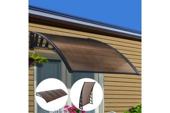 Instahut Window Door Awning Door Canopy Outdoor Patio Cover Shade 1.5mx4m DIY BR