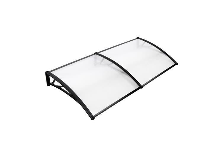 Instahut 1m x 2m DIY Window Door Awning Canopy Patio UV Sun Shield WHITE