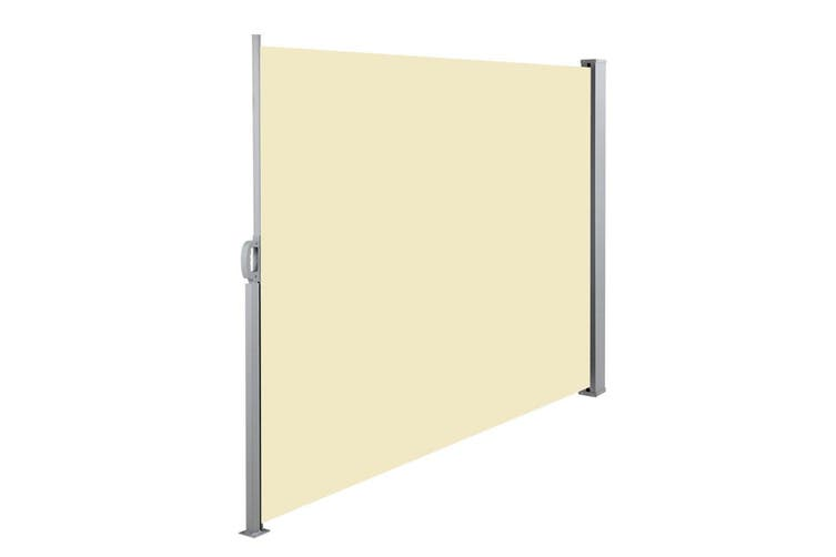Instahut 1.8X3M Retractable Side Awning Privacy Screen Shade Patio Garden