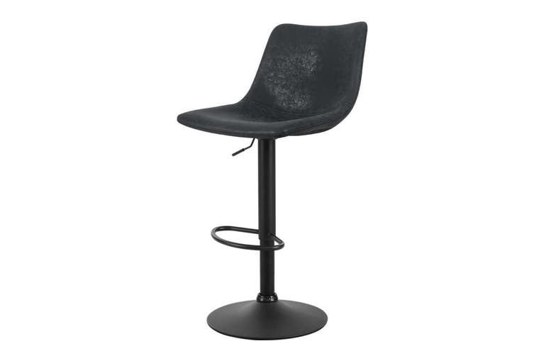 Artiss Kitchen Bar Stools Gas Lift Stool Chairs Swivel Barstools Vintage Leather
