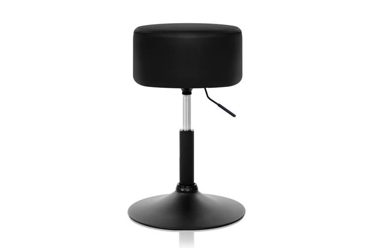 Artiss Kitchen Bar Stools Accent Chairs Gas Lift Stool Swivel Barstools Leather Black