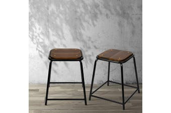 Artiss 4x Vintage Paddington Bar Stools Retro Industrial Bar Stool Counter Chair