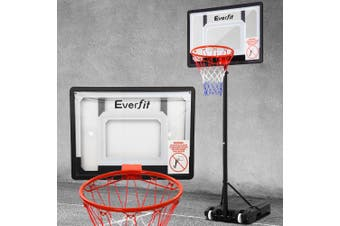 Everfit Portable Basketball Stand System Hoop Height Adjustable Net Ring Kid
