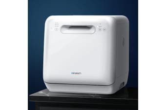 Devanti Benchtop Dishwasher Freestanding Portable Countertop Baby Steriliser