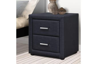 Artiss Bedside Tables Drawers Side Table Cabinet Nightstand Bedroom Furniture