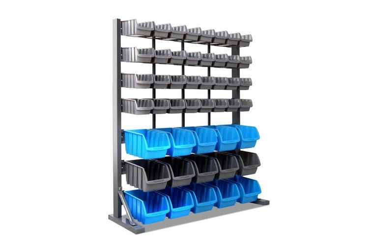 Giantz 47 Bin Storage Rack Shelving Workshop Garage Warehouse Tools Organiser