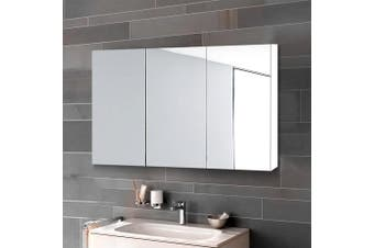 Cefito Bathroom Mirror Storage Wall Cabinet Vanity Medicine White Shaving 900mmx720mm