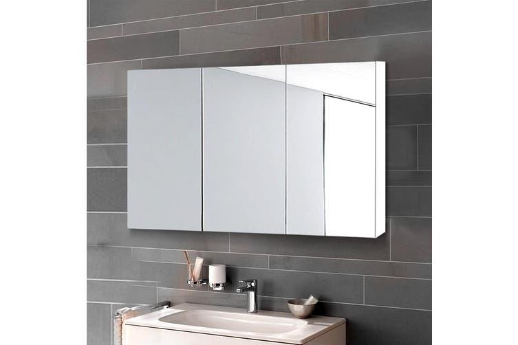 Cefito Bathroom Mirror Storage Wall Cabinet Vanity Medicine White Shaving 900mmx720mm Kogan Com