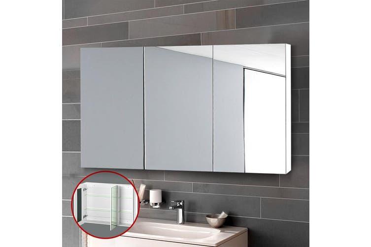 Cefito Bathroom Mirror Cabinet 1200mm, Long Mirrored Vanity Cabinets