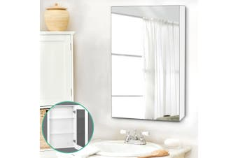 Cefito Bathroom Mirror Storage Wall Cabinet Vanity Medicine Shaving White 450mmx720mm