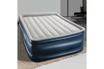 Bestway Queen Air Bed 56cm Inflatable Mattress Electric Built-in