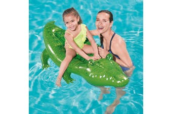Bestway Inflatable Pool Float Crocodile Rider Pool Toy Play Pool