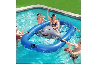 Bestway 3.1m Raft Float Inflatable Pool Floating Raft Bull Riding Toy