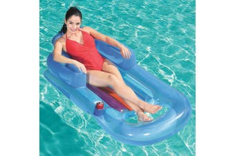 Bestway Inflatable Sun Lounger Pool Air Seat/Chair Lilo Float Toy