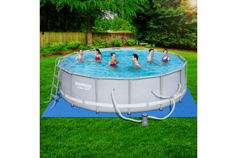 Bestway Power Steel Frame Swimming Pool Above Ground Filter Pump