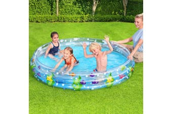Bestway Swimming Pool Above Ground Kids Play Pools Inflatable Family Round Clear