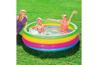 Bestway Inflatable Kids Pool Swimming Pools Round Family Pools