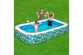 Bestway Inflatable Kids Play Pool Swimming Pool Rectangular Family