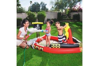 Bestway Inflatable Kids Pirate Pool Play Pools Fantastic Splash