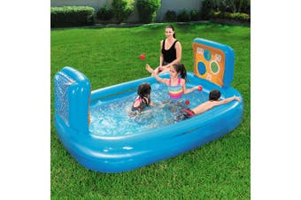 Bestway Inflatable Kids Pool Skill Shot Swimming Pool Ball Pit Game