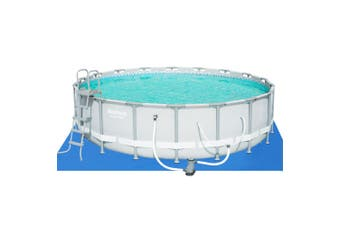 Bestway Above Ground Swimming Pool 18ft Power Frame Filter Pump