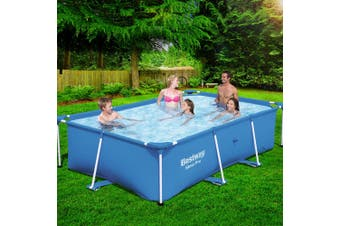 Bestway  Above Ground Swimming Pool Steel Frame Rectangular Pools
