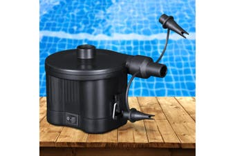 Bestway Air Pump Electric 3 Valve Air Pump Battery Operated