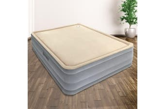 Bestway Luxury Queen Foam Air Bed Inflatable Mattress Built-in Pump