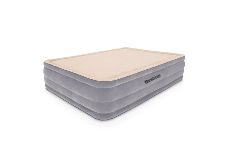 Bestway Luxury Queen Foam Air Bed Inflatable Mattress Built-in Pump