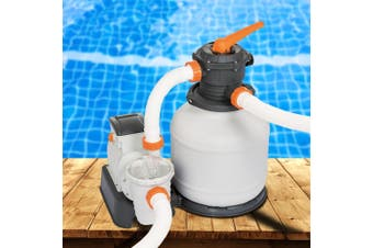 Bestway 2000GPH Flowclear Sand Filter Swimming Pool Cleaning Pump