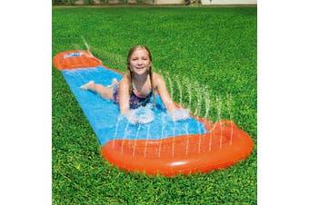 Bestway Inflatable Water Slip And Slide Single Kids Splash Toy 5.49M