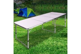 Weisshorn Folding Camping Table Portable Picnic Outdoor Garden BBQ Dining Desks