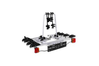 Giantz 4 Bike Bicycle Rack Carrier Towbar Hitch Mount Trailer Ball Bicycles Car Rear Rack