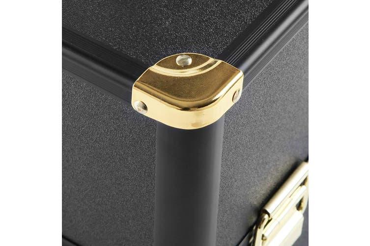 Embellir Portable Makeup Beauty Case Aluminium Locks Makeup Storage Organiser