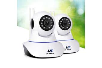 UL-tech Wireless IP Camera 1080P Outdoor HD Spy WIFI CCTV Security System X2