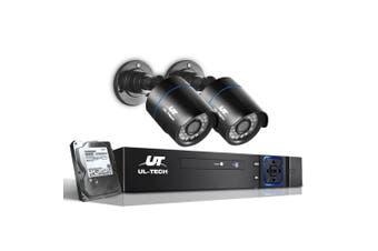 UL-Tech 1080P CCTV Security Camera HDMI 4CH DVR Video Home Outdoor System