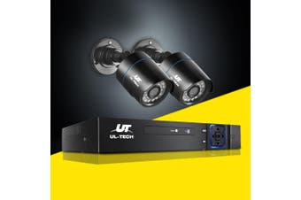 UL-tech CCTV Camera Security System 4CH DVR 1080P HD Camera Set Outdoor IP Kit