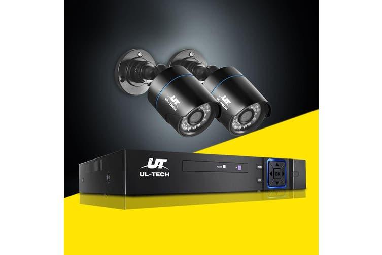 UL-tech CCTV Camera Security System 4CH DVR 1080P HD Camera Set Outdoor IP Kit