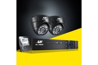 UL-tech CCTV Security System Camera 4CH DVR 1080P Outdoor HD IP 2MP Cameras 1TB