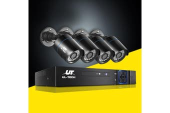 UL-tech CCTV Security System 8CH DVR 1080P Camera Home Outdoor Day Night IP Kit