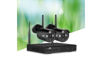 UL-tech Wireless CCTV Security Camera System Outdoor 4CH WIFI 1080P Day Night