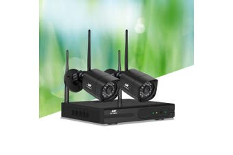 UL-tech Wireless CCTV Security Camera System Set Outdoor IP WIFI 1080P 4CH NVR