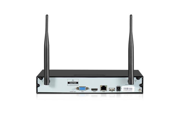 UL Tech  CCTV Wireless Security System 2TB 8CH NVR 1080P 4 Camera Sets