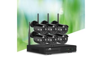 UL-tech Wireless CCTV Security Cameras Set System Outdoor IP WIFI 1080P 8CH NVR