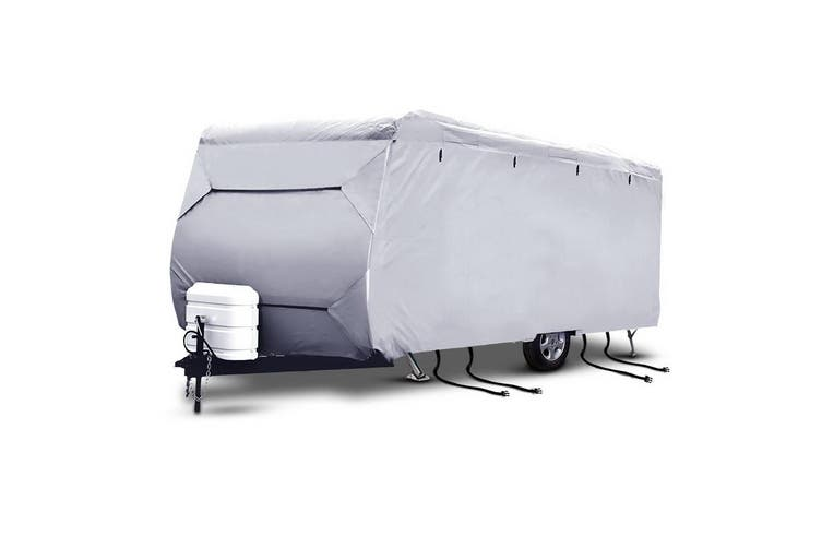 Weisshorn 18-20ft Caravan Cover Campervan 4 Layer Heavy Duty UV Carry bag Covers