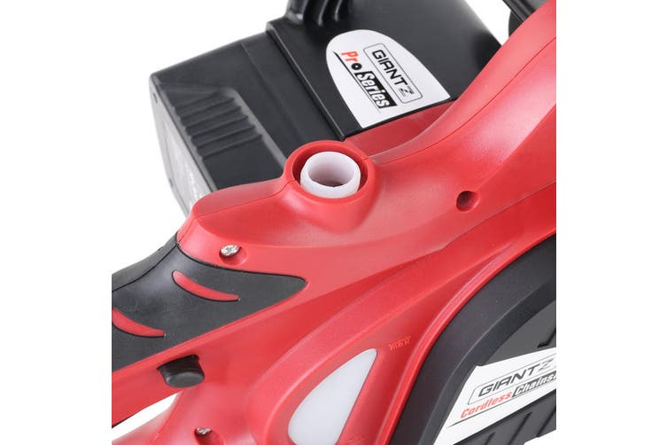 """Giantz 20V Cordless Chainsaw Electric Lithium-Ion Chargeable Pruner 10""""  Garden"""