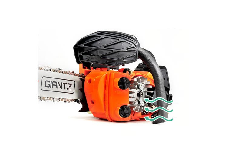 Giantz 25CC Commercial Petrol Chainsaw - Red & Black