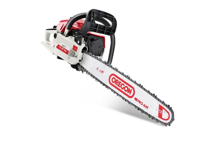 """Giantz Chainsaw Petrol 62cc Petrol Chainsaws Chain Saw 20"""" inch inches E-Start Cover Included Tree Pruning Commercial Grade Top Handle"""